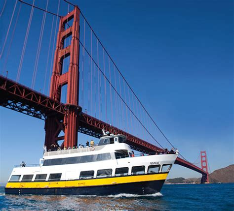 San Francisco Private Boat Tours san francisco bay cruise and sightseeing blue gold fleet