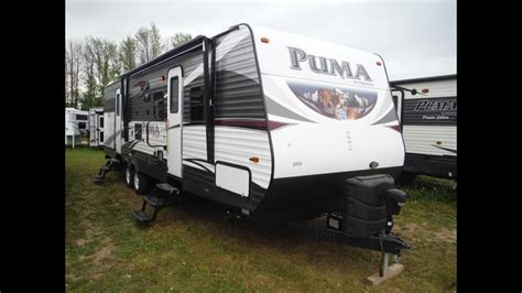 2016 Puma 31bhss 2 Bedroom Travel Trailer With Bunks