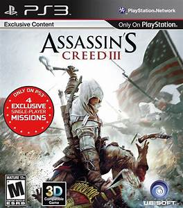 Assassin's Creed III 3 Playstation 3 Game