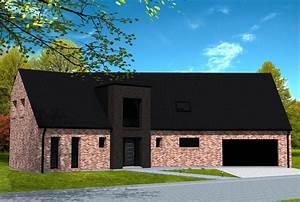 great maison avec entre cubique yohann baheux matre With plan de maison neuve 1 cube avant tout maisons den france nord