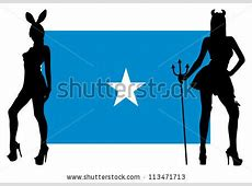 Devil Sexy Silhouette Woman Stock Photos, Images