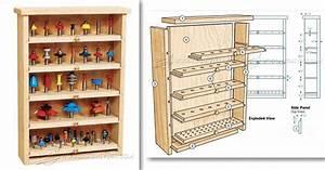 Router Bit Cabinet Plans • WoodArchivist