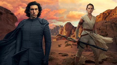 wallpaper star wars  rise  skywalker adam driver