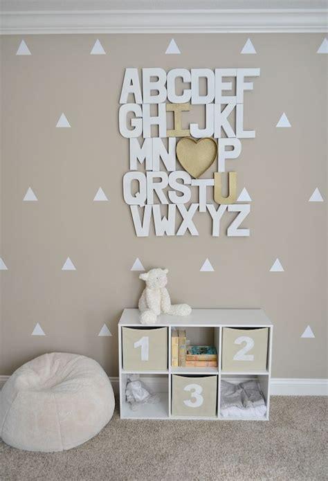 diy chambre décoration chambre bebe diy