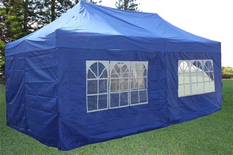 10x20 canopy tent 10 x 20 pop up tent canopy gazebo w 6 sidewalls 9 colors