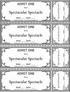 fashion show ticket template - printable tickets for kids search results new calendar