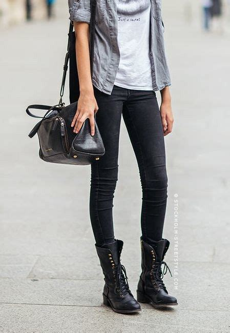 Style Tips How Wear Lace Boots This Year Top