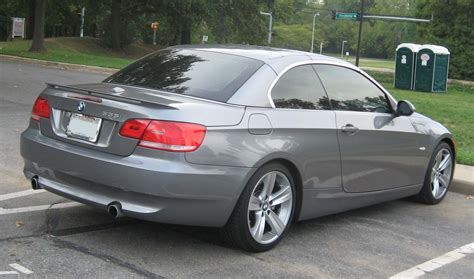 Bmw 335i by File Bmw 335i Convertible Rear Jpg Wikimedia Commons