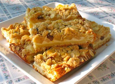 Apfelkuchen Mit Quark Und Streuseln Vom Blech