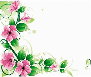 20 Flower Vine Clip Art Vector Images - Free Flower Vector ...