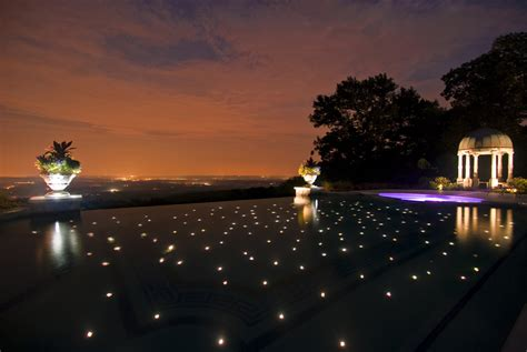 outdoor pool lighting custom swimming pool spa design ideas outdoor indoor nj