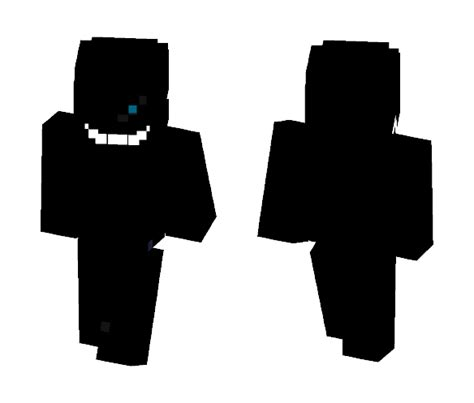 nightmare sans undertale minecraft skin