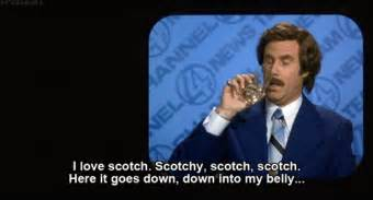the ron burgundy approved great odin s raven scotch will
