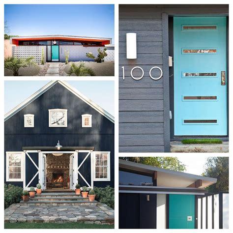 mid century modern exterior paint color schemes eichler