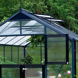 Serre De Jardin 88m Aluminium Et Polycarbonate 10mm