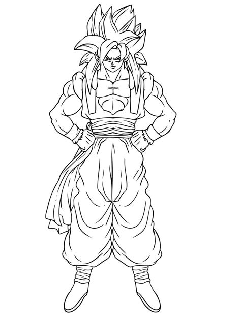 Coloring Pages For Boys by Goku Coloring Pages Free Printable Goku Coloring Pages