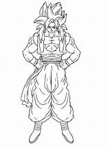 Coloring Pages Goku Boys Printable Recommended sketch template
