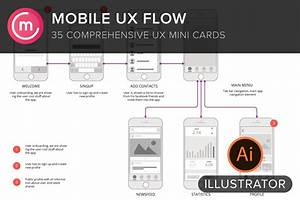 Mobile Ux Flowchart Screens   Sitemap