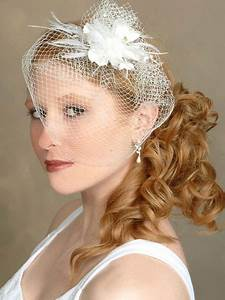 Bridal Veils For Short Hairstyles Cherry Marry