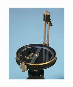 Brass Fully Functional Prismatic Surveying Compass on an ...