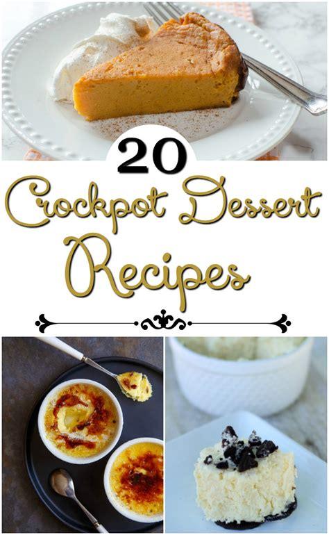 crockpot dessert recipes 20 crockpot dessert ideas mylitter one deal at a time