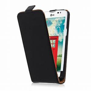 Black Leather Flip Vertical Case Cover Skin For Various ...