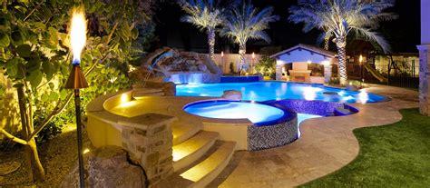 phoenix landscaping design pool builders pool