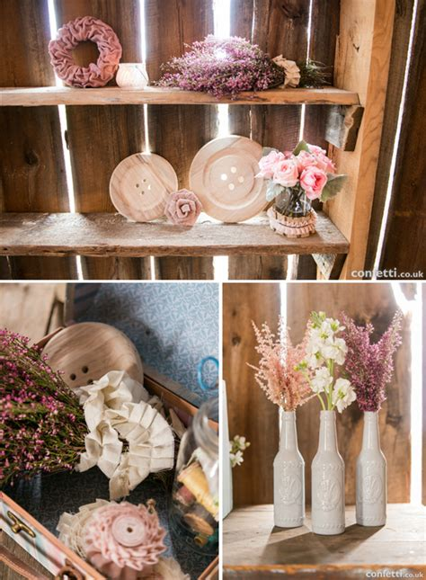 Shabby Chic Wedding Decor Diy by The Benefit Of Diy Weddings Confetti Co Uk