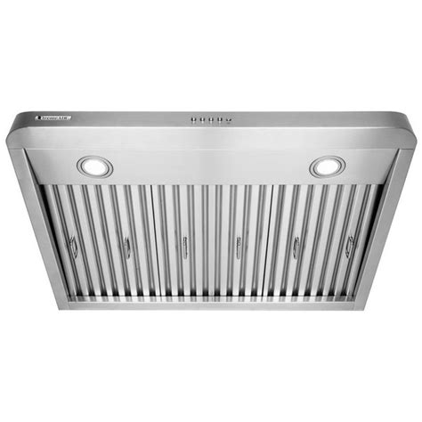 42 under cabinet range hood xtremeair 42 inch under cabinet stainless steel range hood