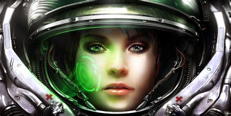 Starcraft Terran Medic Concept Art Sci Ficoolvibe