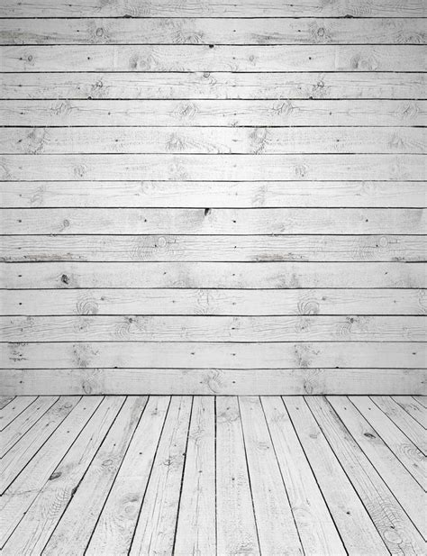 5x7ft light gray grey timber wall wooden floor custom