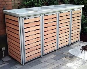 Unterstand Für Mülltonnen : bp system m lltonnenbox f r 4 m lltonnen ~ Lizthompson.info Haus und Dekorationen