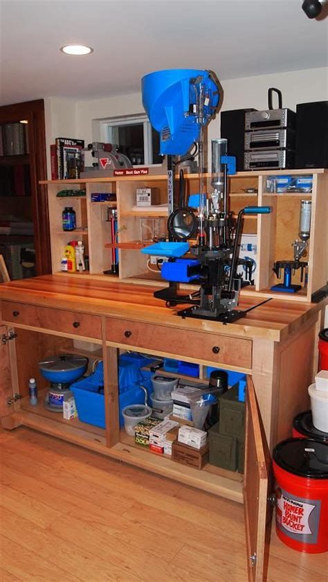 reloading bench ideas reloading bench woodworking projects plans