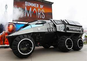 NASA unveils Mars rover concept vehicle