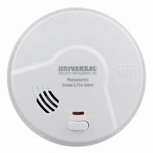 Usi Living Area Photoelectric Smoke Alarm  10 Year Tamper