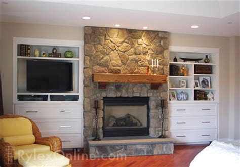Fireplace Cabinets   Newburgh, NY   Rylex Custom Cabinetry