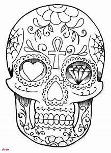 Tete De Mort Mexicaine Dessin : coloriage de tete de mort a imprimer ~ Melissatoandfro.com Idées de Décoration