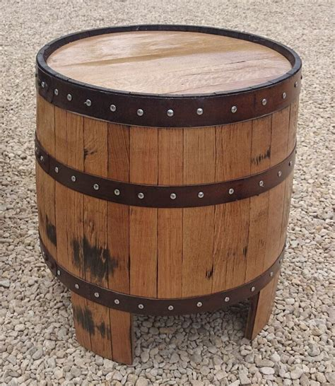 """Recycled Solid Oak Whisky Barrel """"nessie"""" Garden Coffee"""