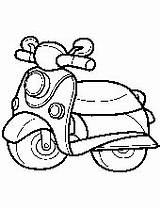 Scooter Coloring Coloriage Pages Motorbikes Printable Imprimer Topcoloringpages Motorcycle Planes Children Dessin Colorier Motorbike Cartoon Bikes Trains Transportation Des Motorcycles sketch template