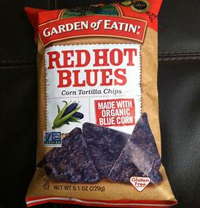 Garden of eatin red hot blues corn tortilla chips maxim for Garden of eatin red hot blues