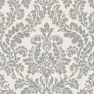 tapete rasch florentine barock creme schwarz 449099 With balkon teppich mit rasch tapeten florentine