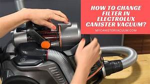 How To Change Filter In Electrolux Canister Vacuum