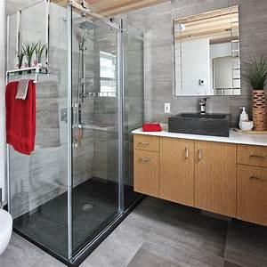 des materiaux bruts pour la salle de bain salle de bain With materiaux pour salle de bain