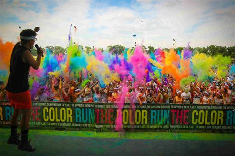 The Color Run A Corrida Mais Animada Do Mundo! Missfit