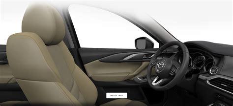 mazda cx  interior seating trim fabric  color