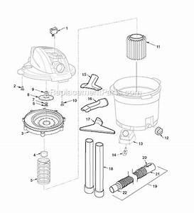 Ridgid Wd12500 Parts List And Diagram   Ereplacementparts Com
