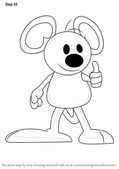 Garfield Draw Squeak Step Drawing Comic Strips