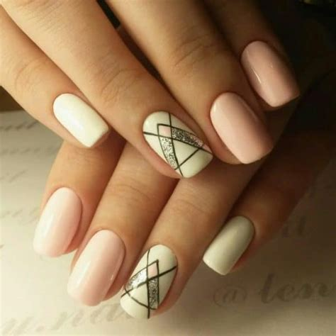 dramatic geometric manicures   add  dose
