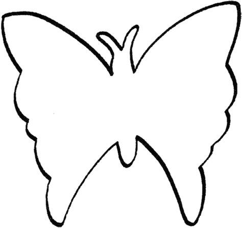 butterfly outline coloring page supercoloringcom