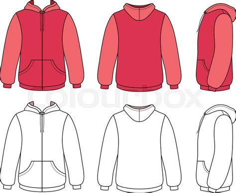 Hoodie Template Hooded Sweatshirt Template Www Pixshark Images